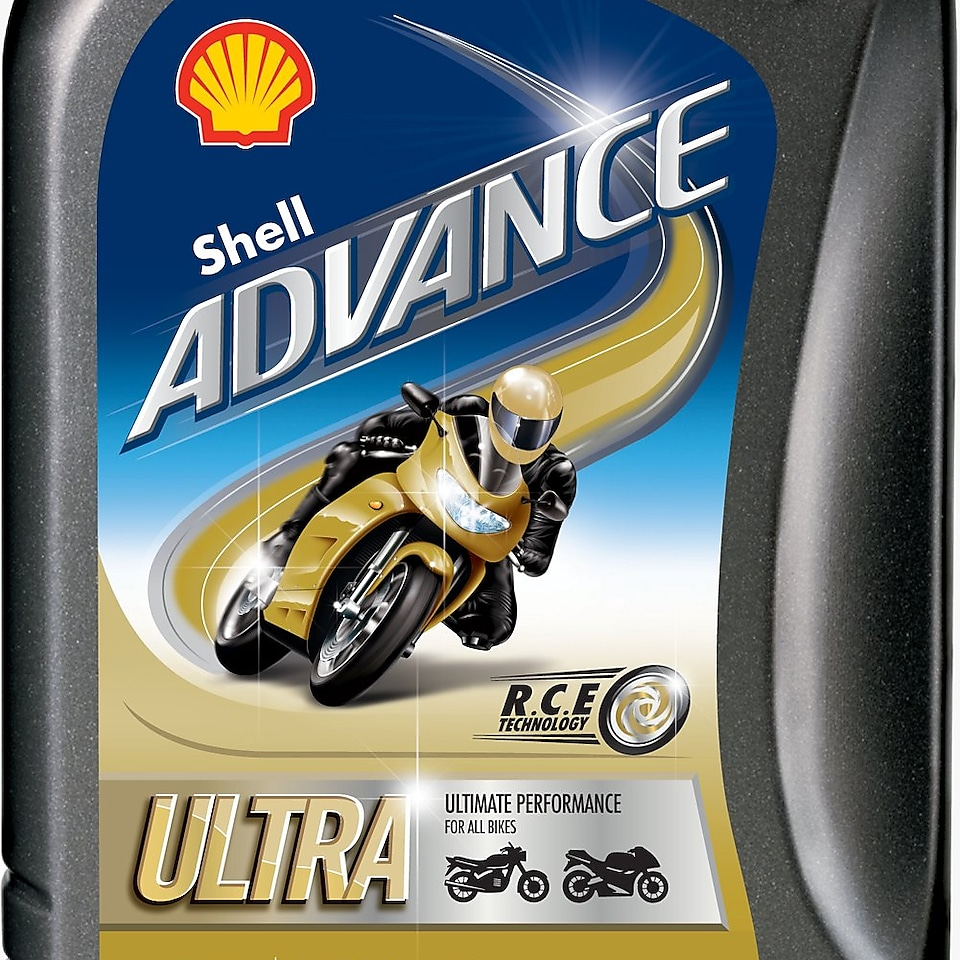Packshot de Shell Advance Ultra