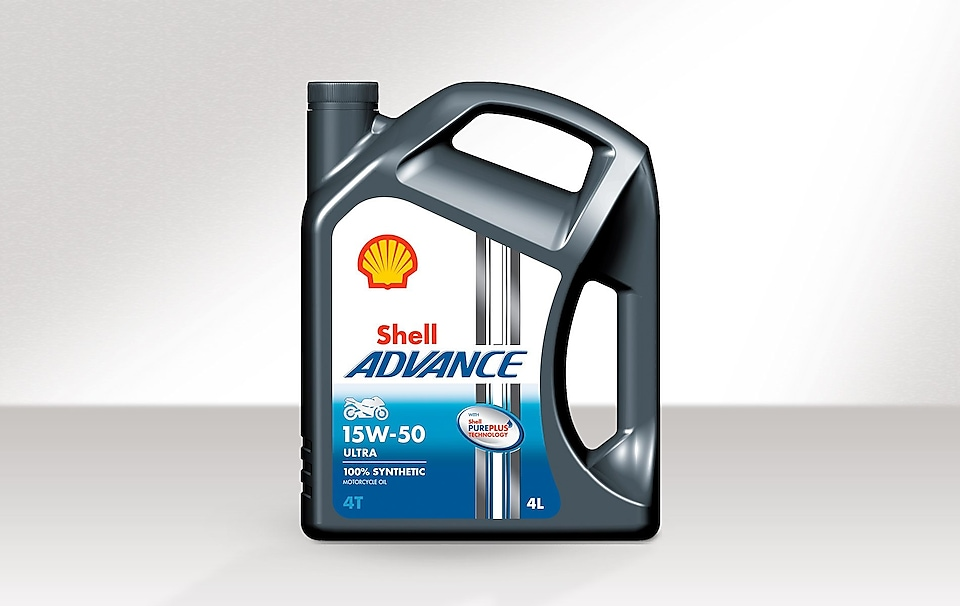 Bidon de Shell Advance Ultra