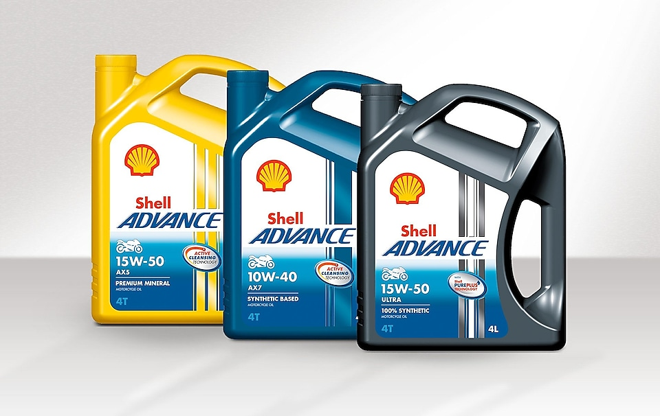 Bidons Shell Advance