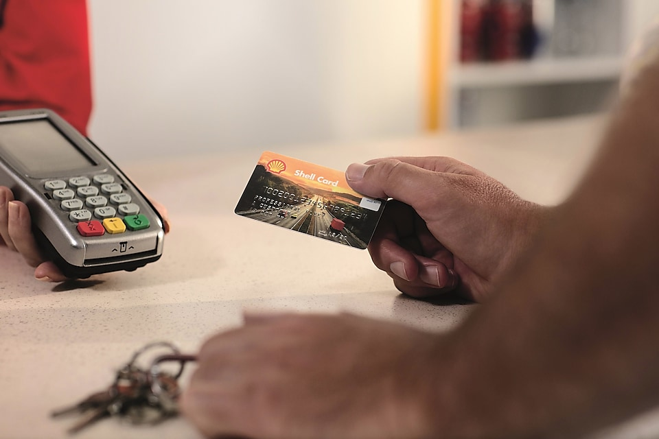 Lees meer over de Shell Card