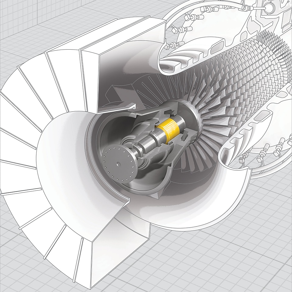 Turbineoliën, Shell Turbo